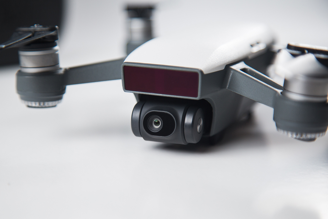 DJI Spark drone product photography