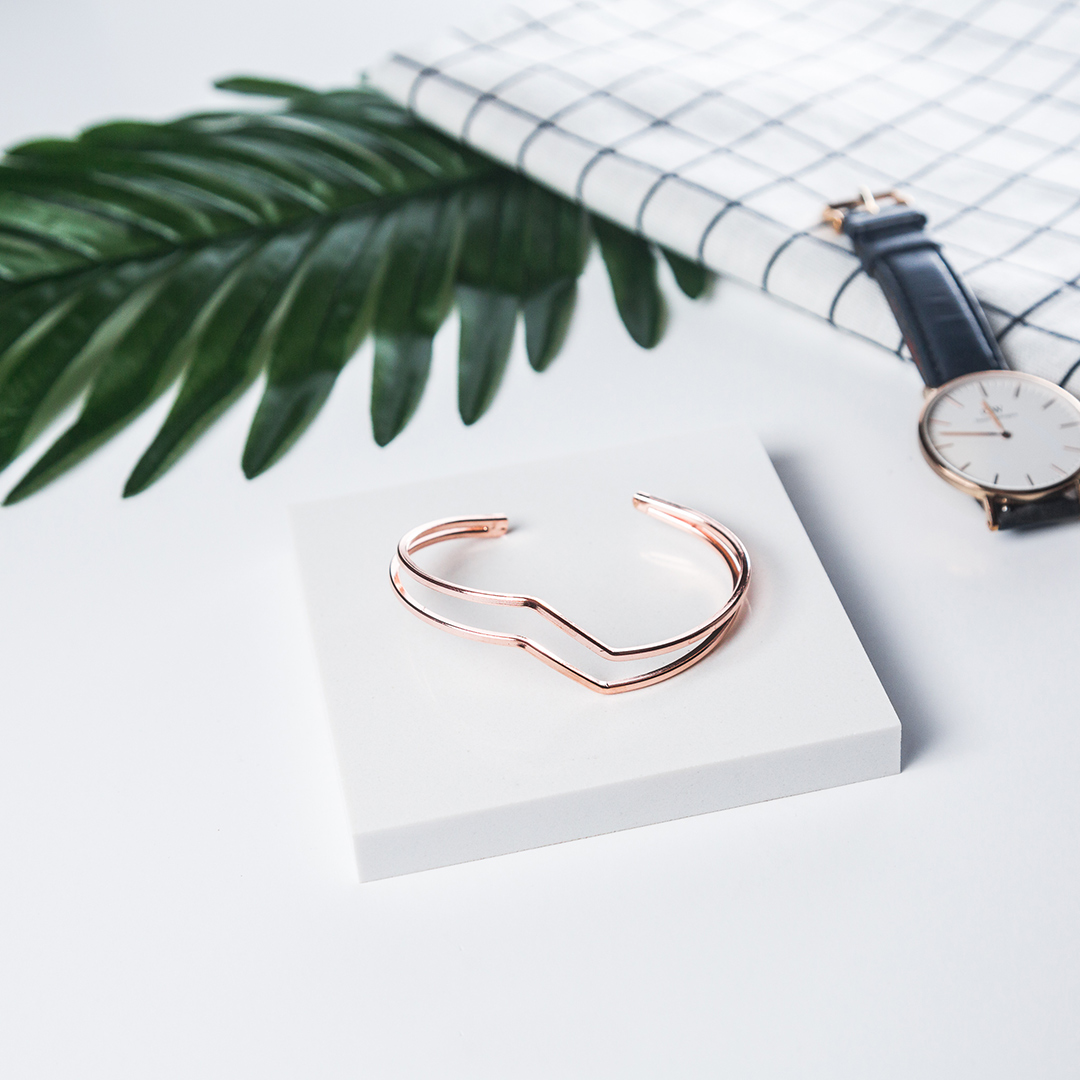 Minimalist lifestyle accessories photoshoot