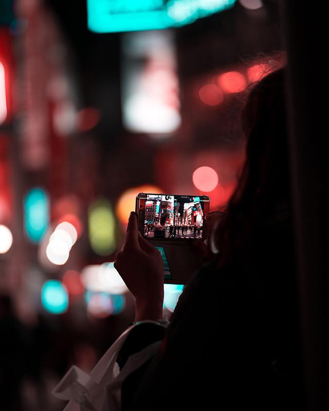 Tokyo night street photography