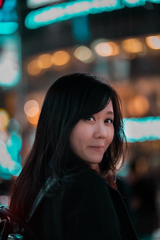 Portrait in Tokyo Japan photography