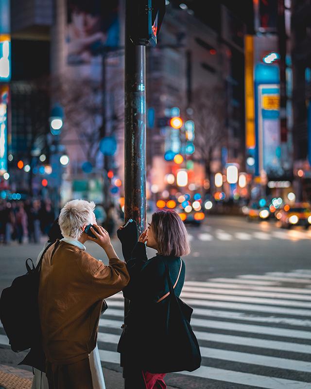 Lifestyle street photography