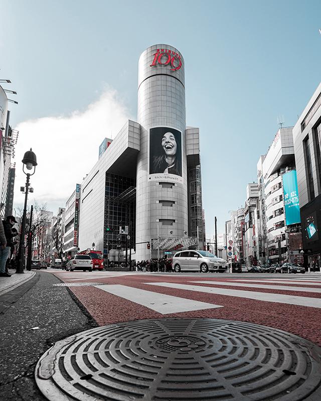 Shibuya 109 building photography