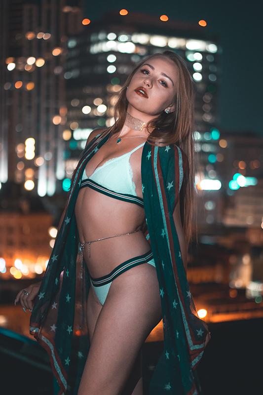 Model photoshoot