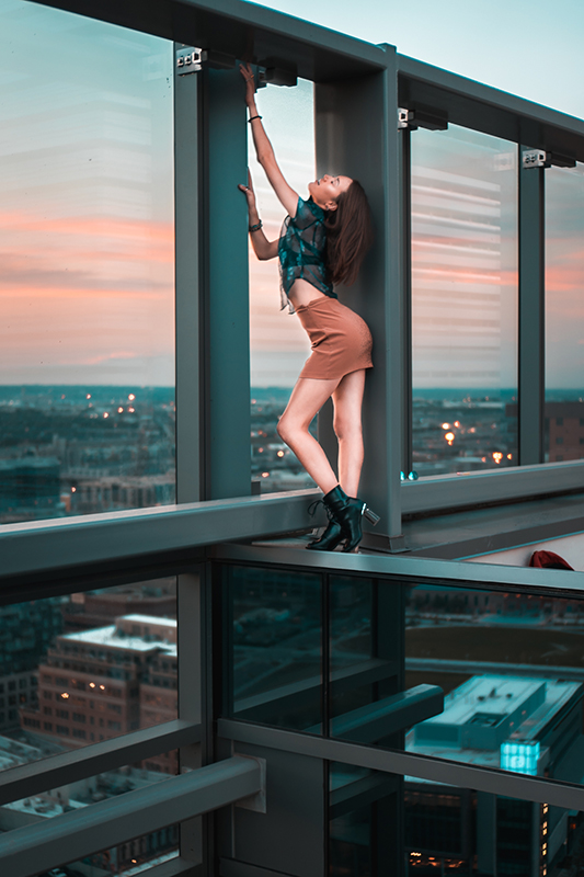 Model portrait lifestyle photographer