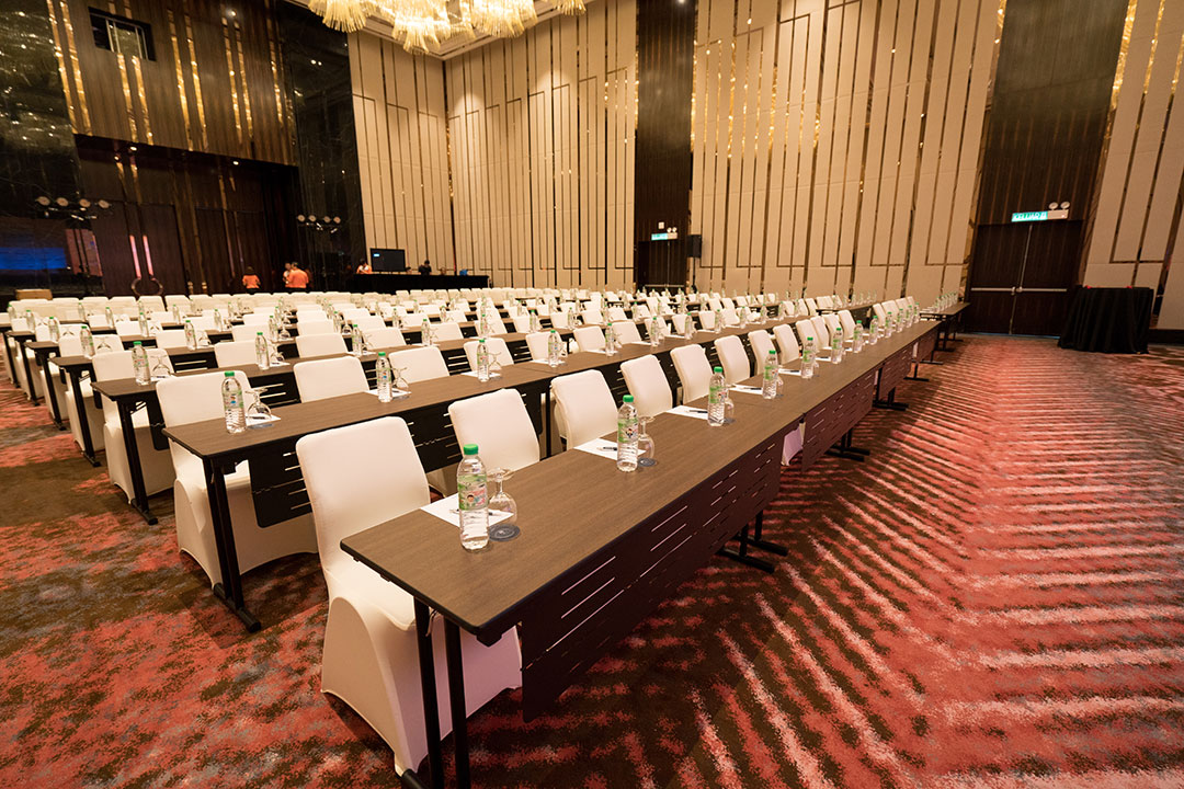 corporate event conference hall photography
