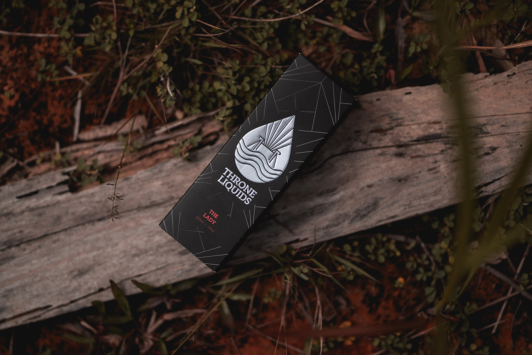 Product photography in the woods