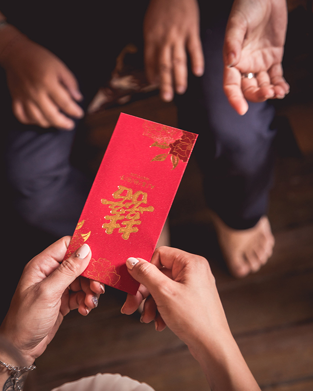 Wedding Tanarimba malaysia chinese red packet