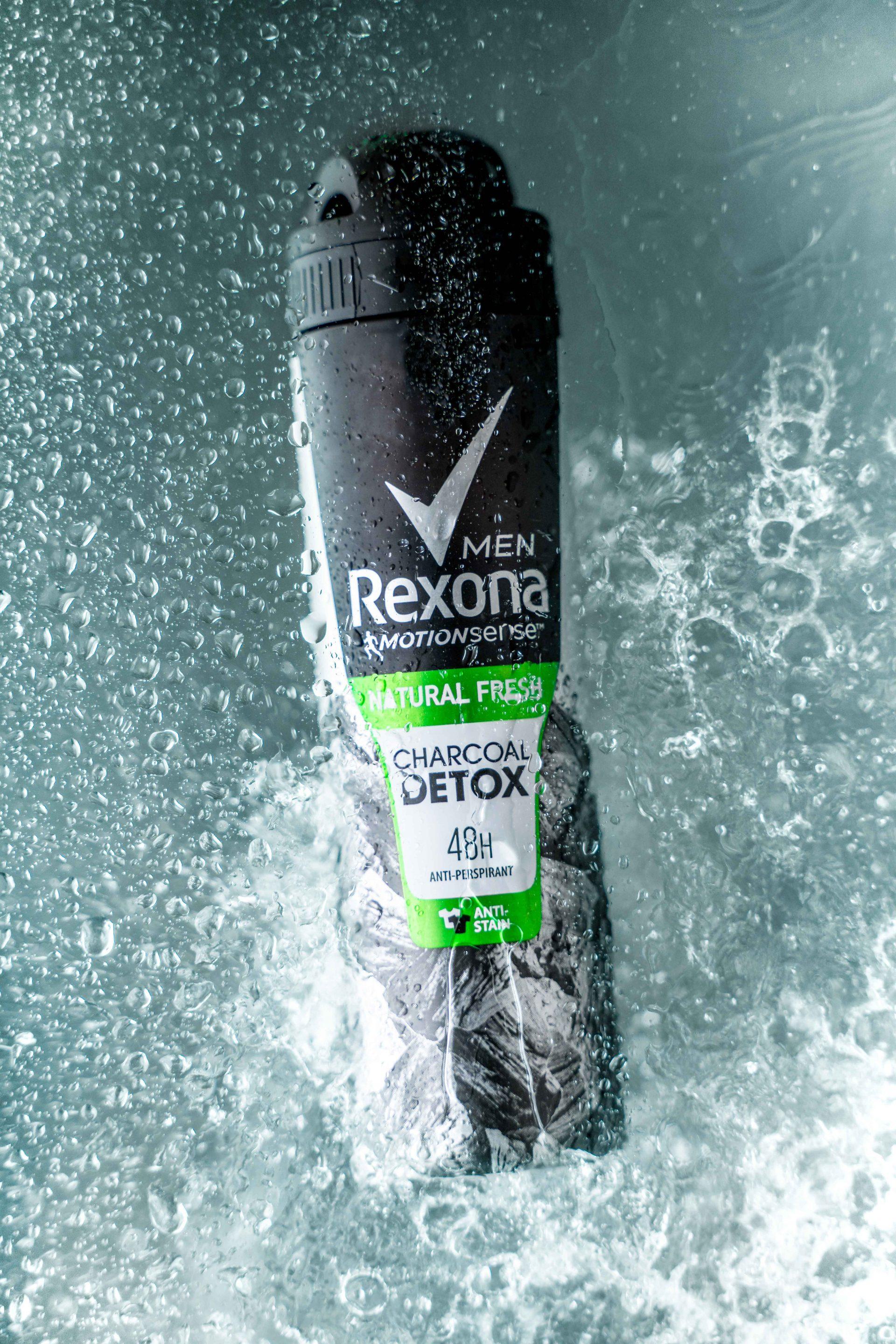 Rexona Deodorant Product Photography